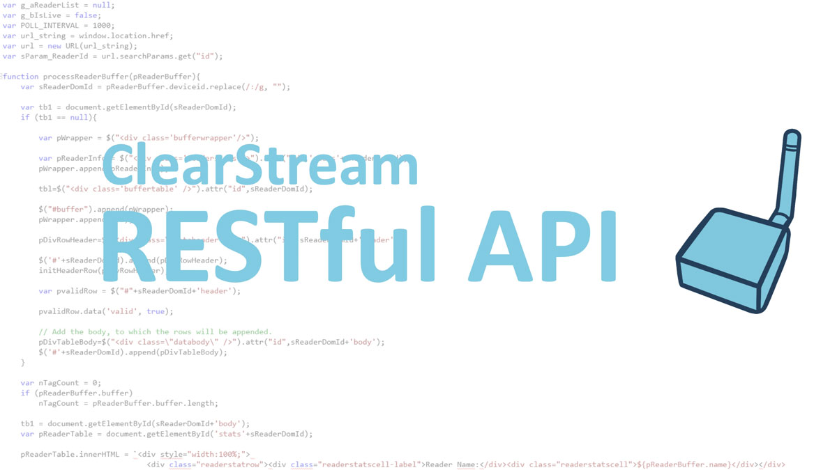 ClearStream RESTful API
