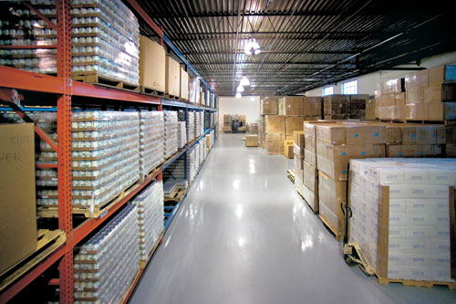 RFID Warehouse Inventory with ClearStream RFID